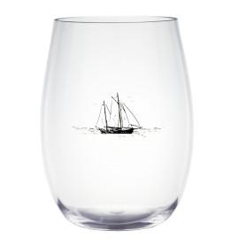 Szklanka do wody/soku z serii Sails melamina Gimex