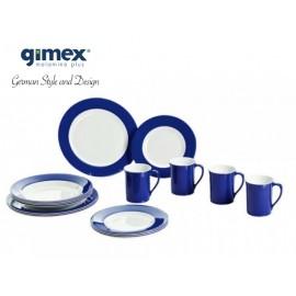 Navy Blue zestaw obiadowy Promoline 16 el. Gimex