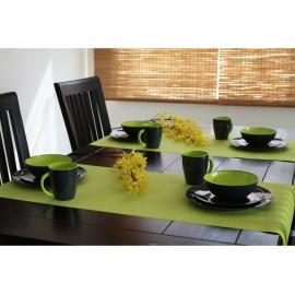 Zestaw obiadowy Greyline zielony 12 el. Gimex melamina