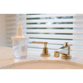Dozownik do mydła Flow jasnoturkusowy Koziol