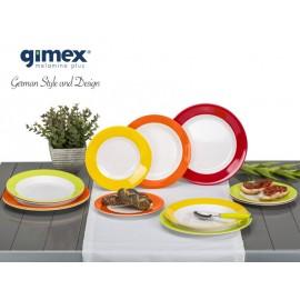 Zestaw obiadowy Rainbow 12 el. Gimex