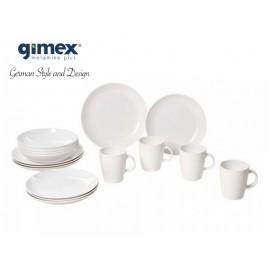 Zestaw obiadowy Classic Line Edelweiss 16 el. Gimex
