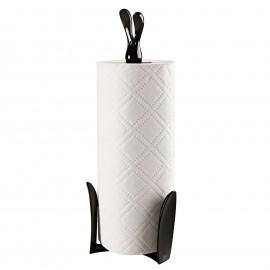 Stojak na ręczniki papierowe Roger czarny Koziol