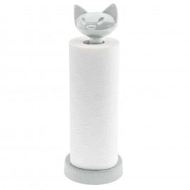 Stojak na ręczniki papierowe Miaou Organic szary