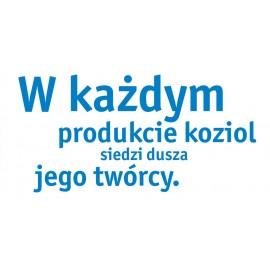 Miska Club Organic niebieska Koziol