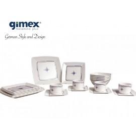 Zestaw obiadowy Quadrato Compass 20 el. Gimex
