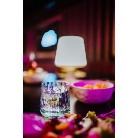 Lampa bezprzewodowa Light To Go Organic ciemnoszara Koziol
