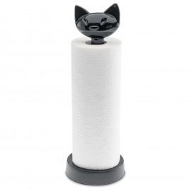 Stojak na ręczniki papierowe Miaou czarny Koziol