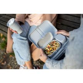 Zestaw lunchboxów Pascal Ready Organic szary Koziol