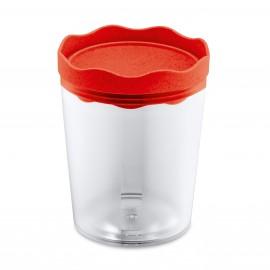 Pojemnik na żywność Prince Organic 0,75 l czerwony Koziol