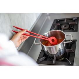 Szczypce wielofunkcyjne Chef Organic czerwone Koziol