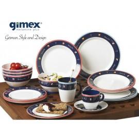 Zestaw obiadowy Yachting Club 16 elementów Gimex