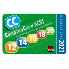 Katalog kempingów ACSI z karta rabatowa