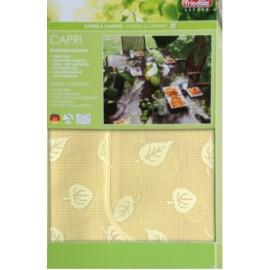 Obrus ogrodowy CAPRI 110x160 (z lamówką) żółty
