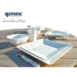 Zestaw obiadowy Quadrato Black Pearl 16 el. Gimex