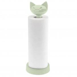 Stojak na ręczniki papierowe Miaou Organic zielony Koziol