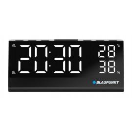 Radiobudzik z wbudowanym czujnikiem temperatury i wilgotności Blaupunkt