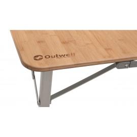 Stół Custer L z bambusowym blatem Outwell