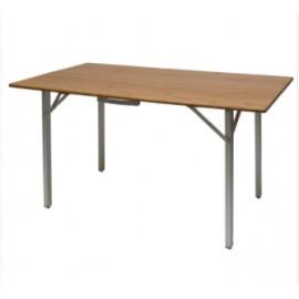 Stół z bambusowym blatem  140x72x70 Defa
