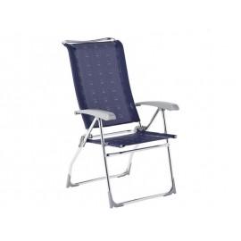 Krzesło składane Aspen niebieskie