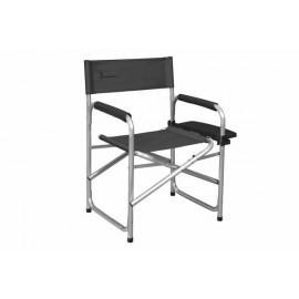Krzesło reżyserskie z półką boczna dark Grey Isabella
