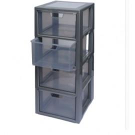 Organizer z 4 pojemnikami plastikowymi