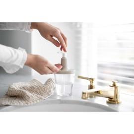 Dozownik do mydła Flow Recycled beżowy Koziol