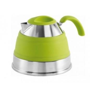 Składany czajnik w kolorze zielonym