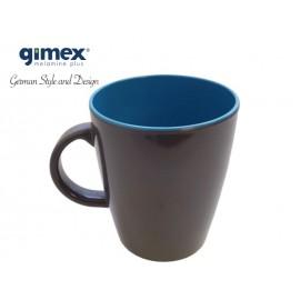 Kubek z melaminy Grey Line - turkusowy - Gimex