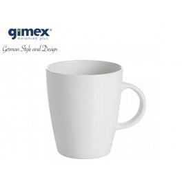 Kubek z serii Edelweiss biały klasyczny z melaminy firmy Gimex