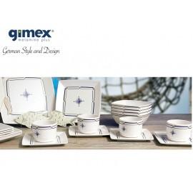 Zestaw filiżanek do kawy Quadrato Compass 2szt z melaminy firmy Gimex