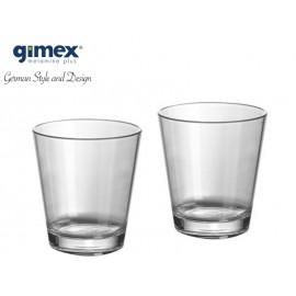 Zestaw szklanek do wody, soku - 2 szt. Gimex