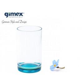 Szklanka z SAN z turkusowym dnem 1szt - Gimex melamina