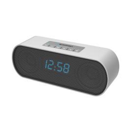 Blaupunkt BT15CLOCK - Przenośny głośnik Bluetooth z radiem FM i budzikiem