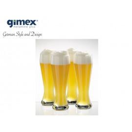 Zestaw szklanek do piwa 2szt z poliwęglanu Gimex