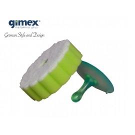 Zestaw 3szt gąbek z przyssawką melamina Gimex