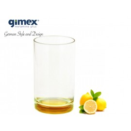 Szklanka z SAN z żółtym dnem 1szt - Gimex melamina