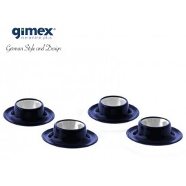 Zestaw podstawek do jajek Promoline granat 4szt - Gimex