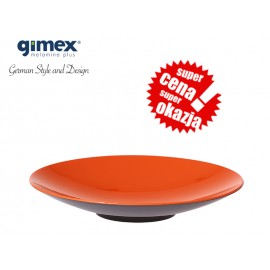 Talerz do pasty GreyLine pomarańczowy 1szt - Gimex