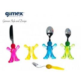Zestaw sztućców dla dzieci - Gimex