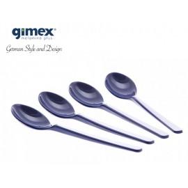 Zestaw łyżeczek granat 4szt melamina Gimex