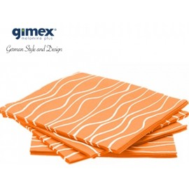 Serwetki pomarańczowe 20 sztuk - Gimex