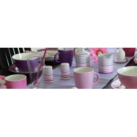 Serwetki różowe 20 sztuk - Gimex