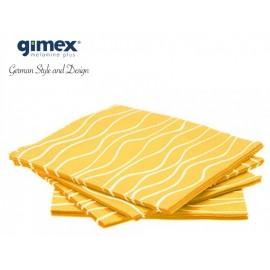 Serwetki żółte 20 sztuk - Gimex