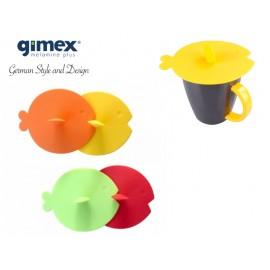 Silikonowe przykrywki do kubków/szklanek 4szt - Gimex