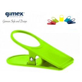 Uchwyt/klips do stołu limonka 1szt - Gimex