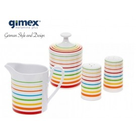 Zestaw śniadaniowy Rainbow 4szt - Gimex