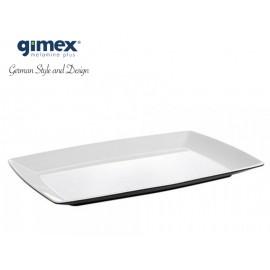 Talerz Quadrato Black&White - Gimex