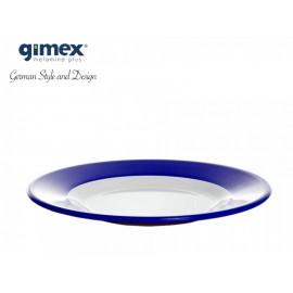 Talerz deserowy Promoline granatowy 1szt - Gimex