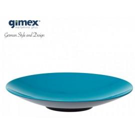 Talerz do pasty GreyLine turkusowy 1szt - Gimex